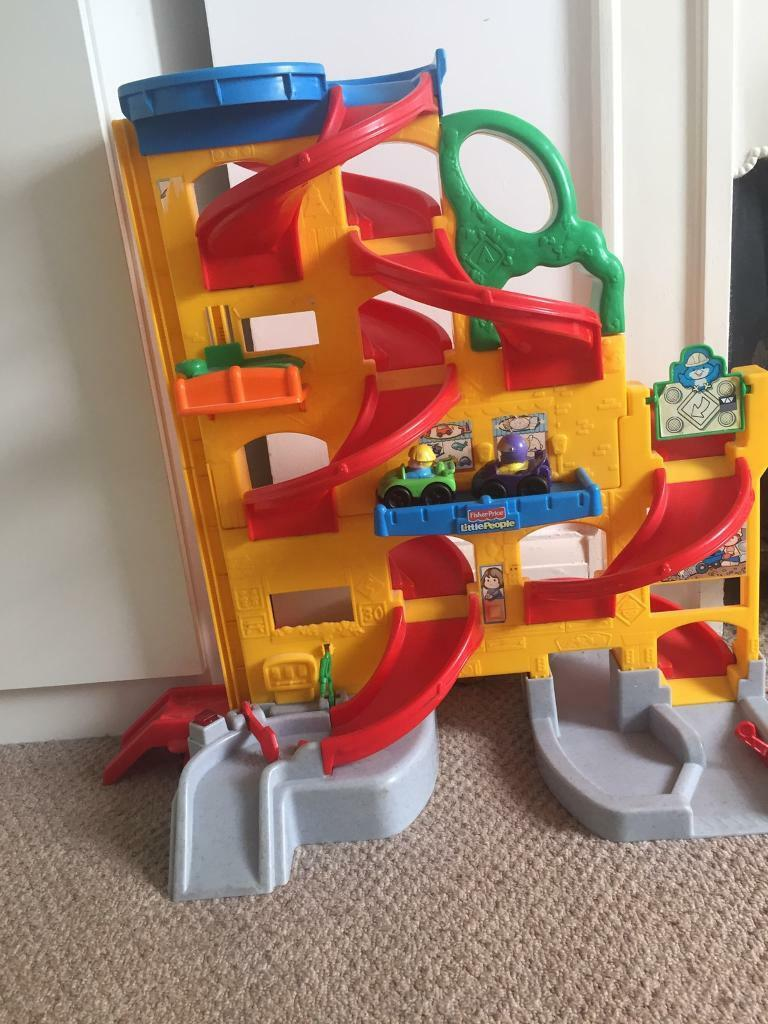Fisher price little people garagein Grays, EssexGumtree - Hi! I have for sale fisher price little people garage with 2 cars included in very good condition. Collection from Grays RM17