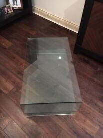 Solid Glass coffee table