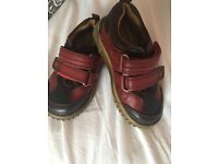 Hush Puppies boys shoes size 6 euro 23
