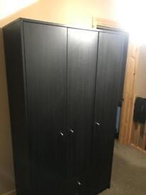 Black double / Triple wardrobe