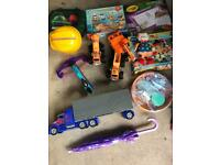 Lots of toys games and books *free*