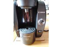 Bosch Coffee Pod Machine, - takes Tassimo coffee pods.