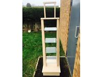 Glass Display Stands x 2