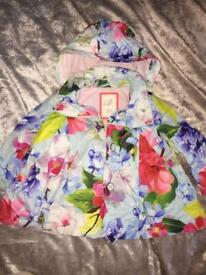 Girls Baby Ted Baker Coat