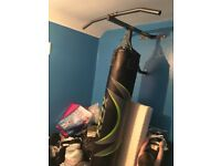 Rdx boxing bag wall bracket and pull up bar