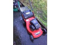 Efco petrol lawnmower self propelled