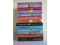 12 x Jacqueline Wilson books