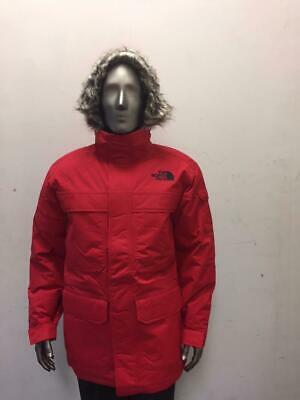 NEW MEN'S NORTH FACE MCMURDO PARKA 111 A33RF682 RED