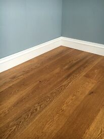Clearance sale on 148x14mm toffee stain oak flooring