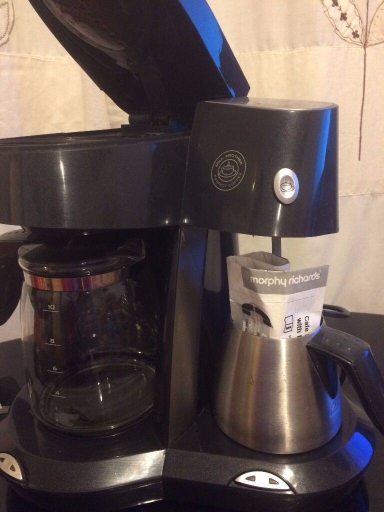 Morphy Richards Coffee Maker With Milk Frother In Hull East