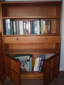 Book Case, with draws and below storage.