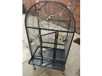 Large Parrot Cage with Toys £250+ WHEN NEW