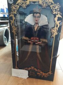 Disney Limited edition evil queen doll