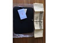 Billingham Laptop Slip (13inch) Black FibreNyte/Leather like new