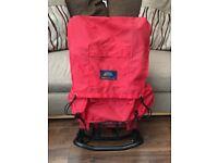 Greenfields Star Trekka red hiking/camping rucksack