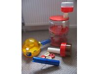 A Rotastak Hamster Cage & Accessories