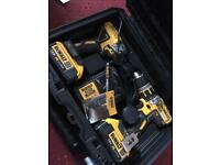 Dewalt xr combi drill and impact driver twin pack