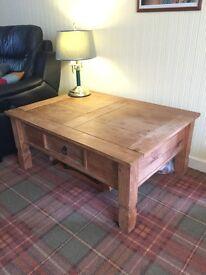 Coffee Table (rustic pine)