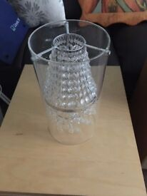 Ikea Glass Chandelier Light Fitting - Perfect Condition