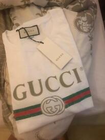 Brand new with tags women's Gucci oversized t-shirt