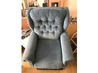 2 matching electric mobility arm chairs