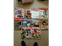 8 x Official PLAYSTATION Magazines & 2 x Playstation Plus Magazines