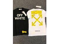 Off White Designer T Shirt