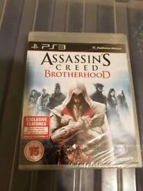 Assassins creed brotherhood new sealed ps3 playstation