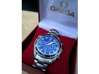 Omega SeaMaster Planet Ocean 007 Quantum Of Solace Edition Very Rare Stainless Steel Bracelet Watch.