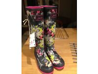 Joules wellingtons brand new