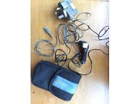 DS case, Car Charger and UK and US mains Charger