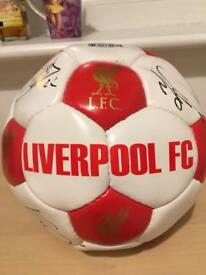 Liverpool F.C. Autographed ball