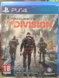 No mans sky, the division ps4