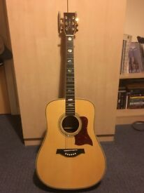 Tanglewood TW1000 acoustic Guitar
