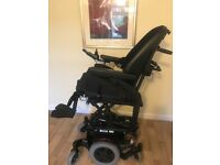 Electric Wheelchair Salsa Mini Red Line