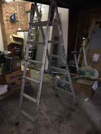 6 Tread Folding Aluminium Ladder