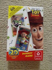 Disney Toy Story Donkey Card Game (new and unused)