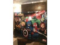 Lego Avengers SuperHeroes Banner 2m x 1.6m | Acrylic