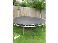 10 ft trampoline , no enclosure