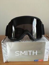 Smith Squad XL goggles with Chromopop Sun Black and Storm Rose Lens