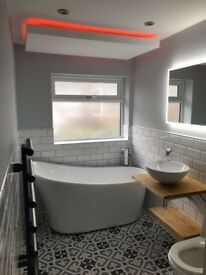 Full bathroom and kitchen fitting / installation