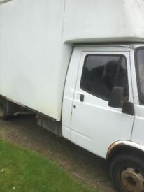 LDV Convoy LUTON Van With Tailift