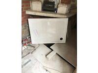 Brand New! Resin Shower Tray from Builder Depot - half price £65