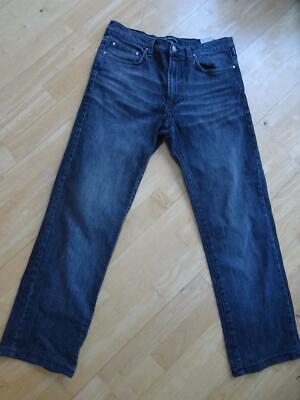 VERSACE JEANS COUTURE mens black designer jeans WAIST 34 AUTHENTIC