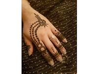 Bridal henna/mehndi party henna ....henna favours and personalised candles