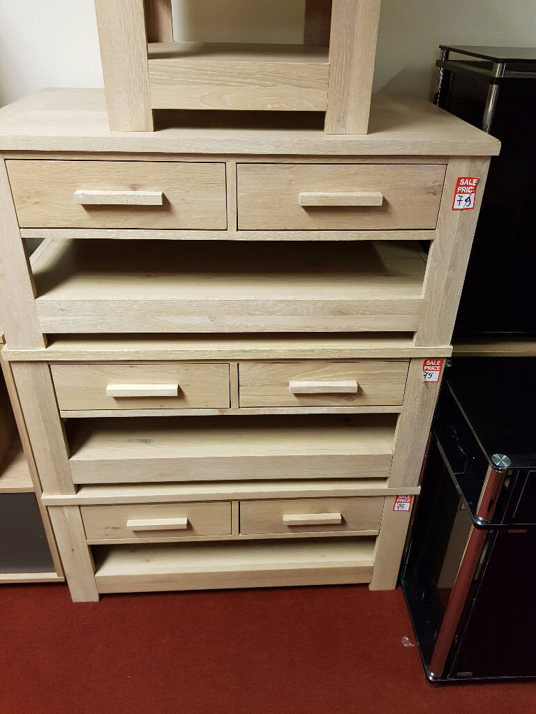 constable 2 drawer coffee table - light oak