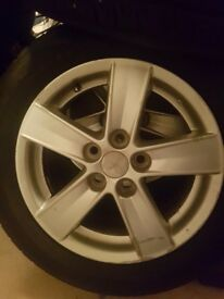 205x60x16 alloys and tyres fitment 5x114.3
