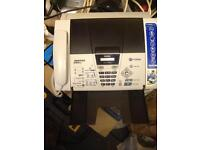 Brothers faxes machine