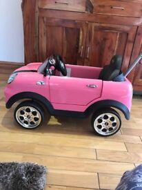 BMW pink mini pink