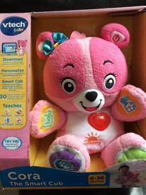 Cora the smart cub
